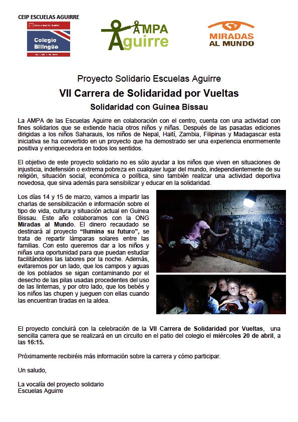 Proyecto Solidario2016